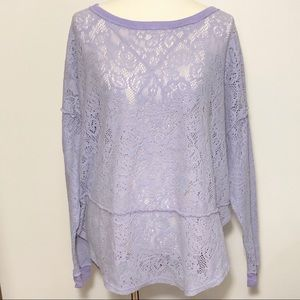 Free People oversized sweater Size L